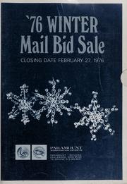 76 Winter Mail Bid Sale