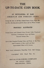The Up-to-Date Coin Book