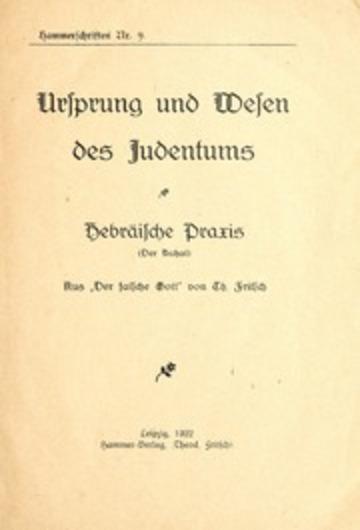 Ursprung Des Judentums