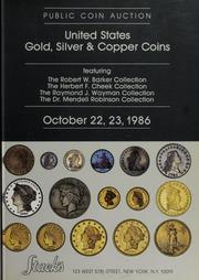 U.S. Gold, Silver & Copper Coins