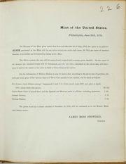 U.S. Mint Circular