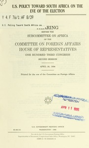 a study on the united states foreign policy toward africa The south african institute of international affairs (saiia) has released a  the  study, more than forty pages in length, is as much about the us.