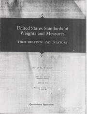 United States Standards of Weights and Measures
