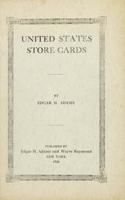 United States Store Cards