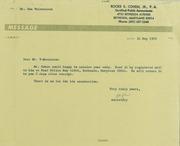 Don Valenziano Correspondence