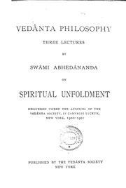 Vedanta philosophy  : Swami abhedananda : Free Download, Borrow, and