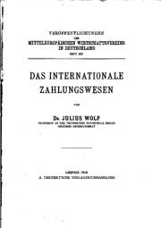 Vol 14: Veröffentlichungen des Mitteleuropäischen Wirtschaftsvereins