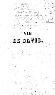Vie de David