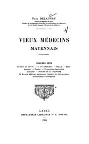 Vieux médecins mayennais: 2e série