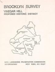 Vinegar Hill proposed histo...