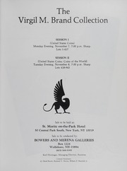 The Virgil M. Brand Collection: American Coins, Part I