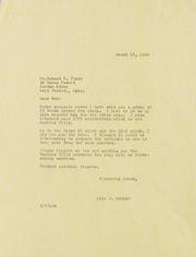Robert Vlack Correspondence, 1960-1995