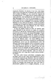 Vocabulaire français du XVIe siècle
