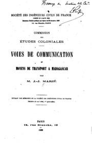 Voies de communication et moyens de transport à Madagascar