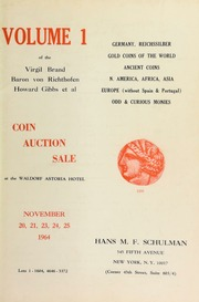 Volume 1 of the Virgil Brand, Baron von Richthofen, Howard Gibbs et al ... [11/20-21/1964], [11/23-25/1964]