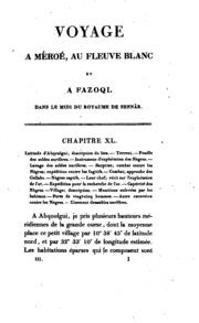 Vol 3: Voyage à Méroé, au fleuve Blanc, au-delà de Fâzoql dans le midi du royaume de Sennâr, à Syouah et dans cinq autres oasis; fait dans les années 1819, 1820, 1821 et 1822