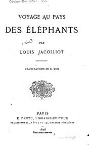 Voyage au pays des éléphants