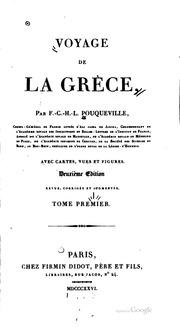 Voyage de la Grèce
