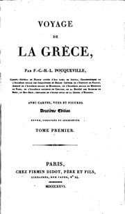 Voyage de la Grèce. 6 vols. and maps.