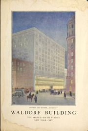 Waldorf Building : 33rd Str...
