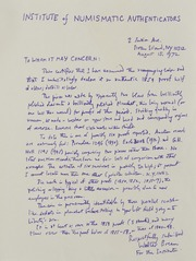 Walter Breen Correspondence, 1952 to1992