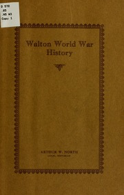 account of the history of the world war i and the internet Walton world war history being a brief account of the participation, in that struggle, of residents of the town and village of walton, delaware county, new york item preview remove-circle share or embed this item.