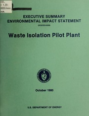 waste isolation power plant issues How much spent nuclear fuel from nuclear power plants is stored in the united  states  based on satisfying those requirements, issues a license for snf  storage 3  the waste isolation pilot plant (wipp) located in carlsbad, new  mexico,.