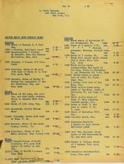 Wayte Raymond Invoices from B.G. Johnson, May 23, 1940, to November 5, 1940