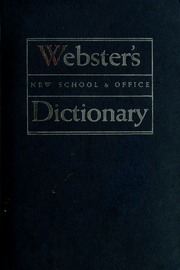 noah webster dictionary free download