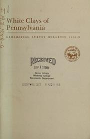 White Clays of Pennsylvania