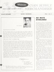 Whitman Coin Supply Merchandiser Vol. 1 No. 2