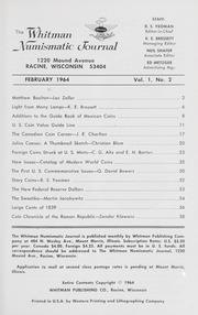 Whitman Numismatic Journal: February 1964