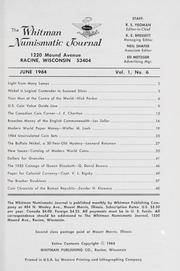 Whitman Numismatic Journal: June 1964