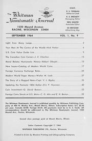 Whitman Numismatic Journal: September 1964