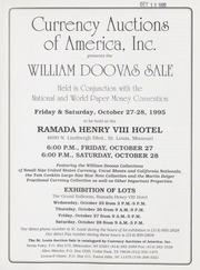 William Doovas Sale