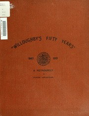 Willoughby-s fifty years : a retrospect of the jubilee period of the Council of the Municiplaity of Willoughby for the years 1865 to 1915