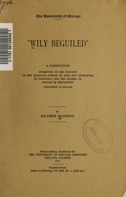 Wily beguiled, a dissertation