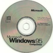 Windows 95 B Companion CD