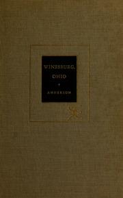 critical essays on winesburg ohio Essays and criticism on sherwood anderson's winesburg, ohio - critical essays.