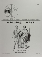 Winning Ways: Official Publication of Women in Numismatics, vol. 10, no. 2