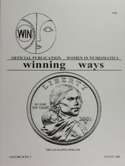 Winning Ways: Official Publication of Women in Numismatics, vol. 10, no. 3