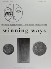 Winning Ways: Official Publication of Women in Numismatics, vol. 11, no. 3