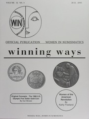 Winning Ways: Official Publication of Women in Numismatics, vol. 12, no. 3