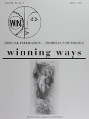 Winning Ways: Official Publication of Women in Numismatics, vol. 12, no. 2