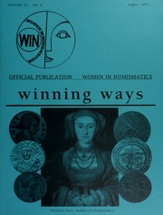 Winning Ways: Official Publication of Women in Numismatics, vol. 13, no. 3