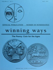 Winning Ways: Official Publication of Women in Numismatics, vol. 13, no. 2