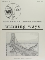 Winning Ways: Official Publication of Women in Numismatics, vol. 14, no. 3