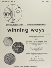 Winning Ways: Official Publication of Women in Numismatics, vol. 15, no. 2