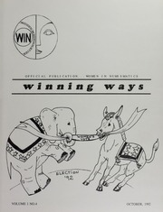 Winning Ways: Official Publication of Women in Numismatics, vol. 1, no. 4