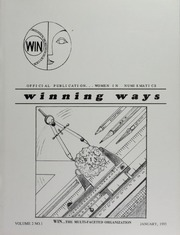 Winning Ways: Official Publication of Women in Numismatics, vol. 2, no. 1